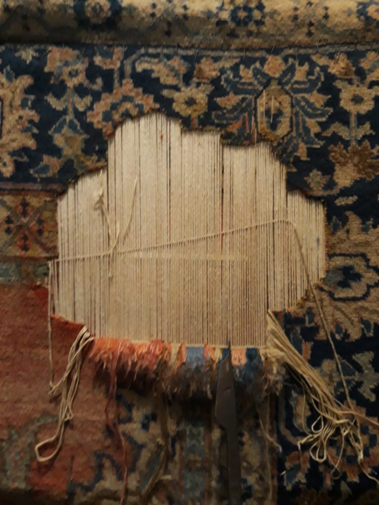 Restauro tappeti antichi Trieste